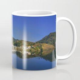 Bridge across Cavado river (Color). Geres National Park, Portugal Coffee Mug