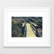 Little bridge Framed Art Print