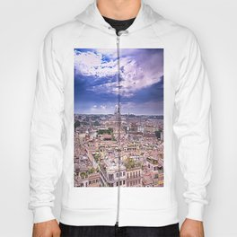 View Of Eternal City Rome Hoody