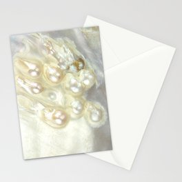 Shimmery Pearly Abalone Shell Stationery Cards