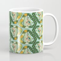 pear Mugs featuring PEAR by SEUNGEUN LEE