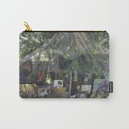 Rabbit's Storytelling Throne, No. 12 Carry-All Pouch