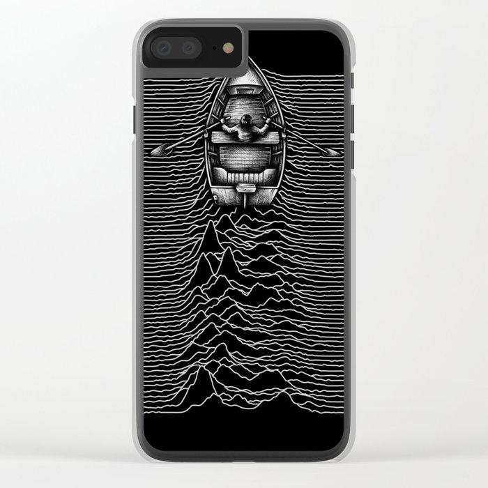 Unknown Waters Clear iPhone Case
