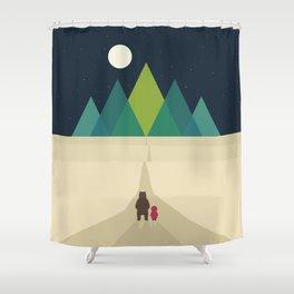 Long Journey Shower Curtain