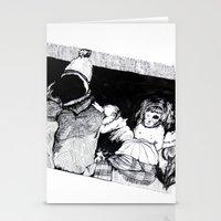 velvet underground Stationery Cards featuring Underground by T.K. Dolan