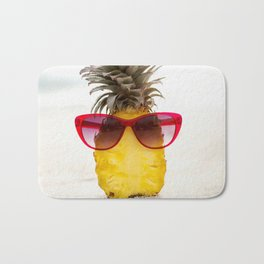 cool pineapple Bath Mat