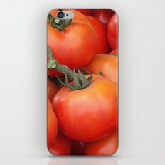 Bright Red Garden Tomatoes iPhone Skin