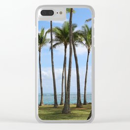Palms in Kapa'a Clear iPhone Case
