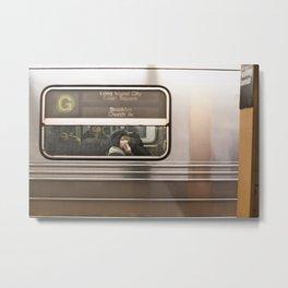 Gloom Train Metal Print