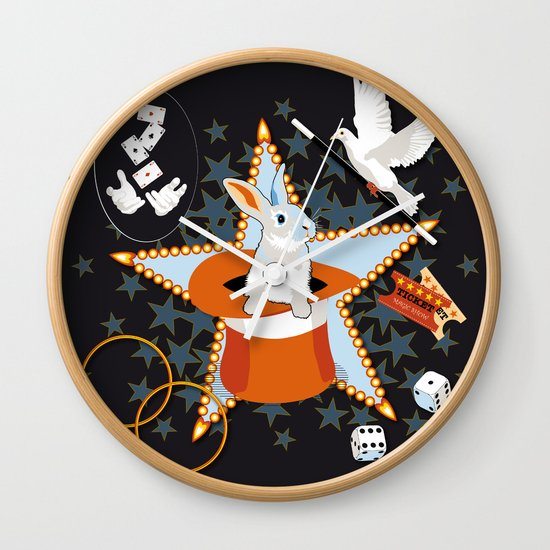 Magic Show Wall Clock