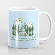 Tiny Forest by the Sea Mug