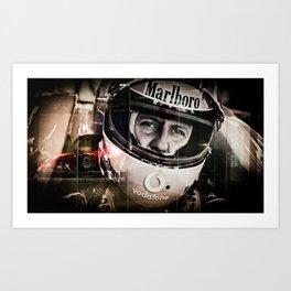 Michael Schumacher Art Print