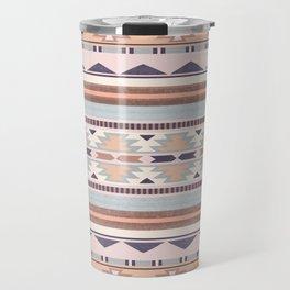 Blush South Western Pattern Travel Mug