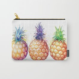 Three Pineapples Carry-All Pouch