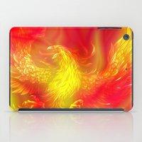 phoenix iPad Cases featuring Phoenix by Paula Belle Flores