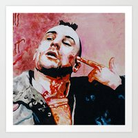 taxi driver Art Prints featuring Taxi driver by BaconFactory