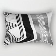 Modern Zebra Abstract Rectangular Pillow