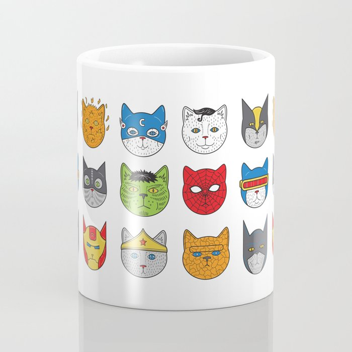 Super Cats Coffee Mug