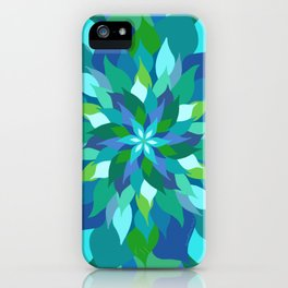 Healing Leaves iPhone Case