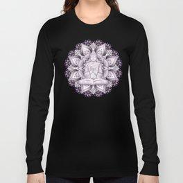 Black Mandala Long Sleeve T-shirt