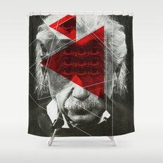 Albert E Mix 1c Shower Curtain