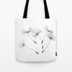 Dandelion seeds, Tote Bag