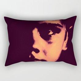 Looking At You Rectangular Pillow