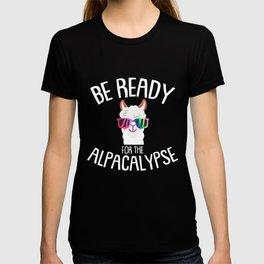 Be ready - Alpaca, Lama, Peru T-shirt