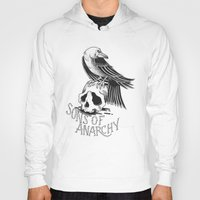 sons of anarchy Hoodies featuring Sons of Anarchy  by Christiano Mere