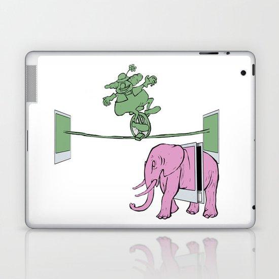 POLAROID SX70 CAMERA CIRCUS Laptop & iPad Skin