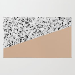 Granite and Hazelnut Color Rug