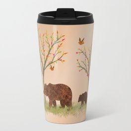 Walk In The Woods With Mama Bear Travel Mug