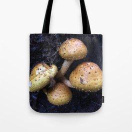 Wild Shrooms Tote Bag