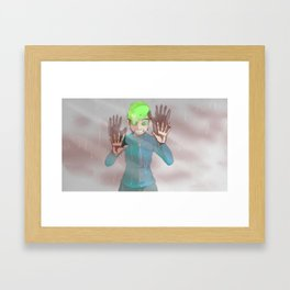 What Have I Become? I'm Sorry. - Anti version Framed Art Print
