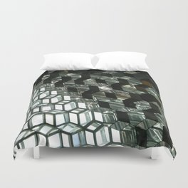 Harpa,  concert hall and conference centre Duvet Cover
