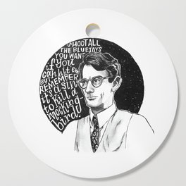 Atticus Finch Cutting Board