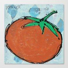 tomato. Canvas Print