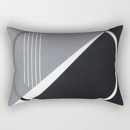 London - circle graphic Rectangular Pillow