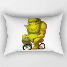 Bike Monster 1 Rectangular Pillow