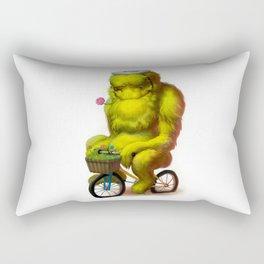 Bike Monster 1 Rectangular Pillow