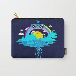 Happy Rainbow Land Carry-All Pouch