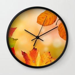 Autumn2 Wall Clock