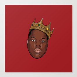 Notorious B.I.G - The King Canvas Print