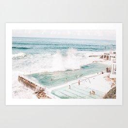 Bondi Beach - Bondi Icebergs Club Art Print
