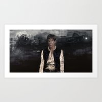 han solo Art Prints featuring Han Solo by Rafal Rola