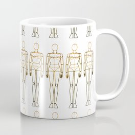 Female Doll Mannequins 2 Coffee Mug