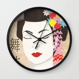 Maiko Wall Clock