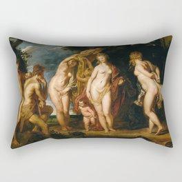 Peter Paul Rubens - The Judgment of Paris Rectangular Pillow
