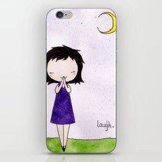 Laugh iPhone Skin