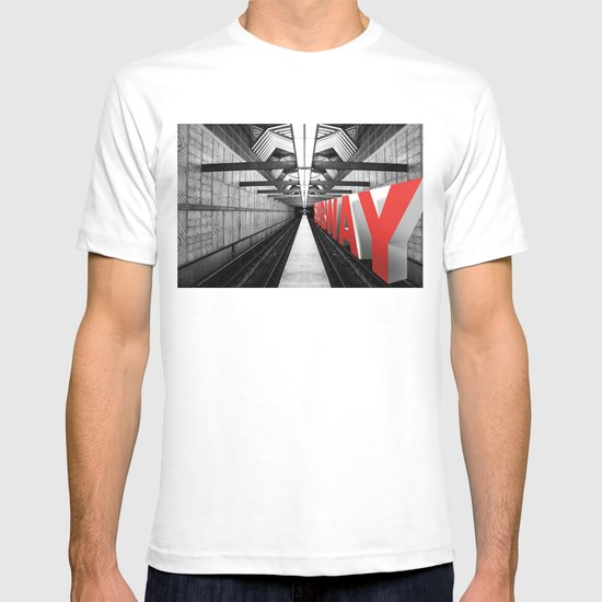 LA subway T-shirt